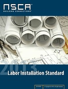 2013 NSCA Labor Installation Standard - Printed Copy